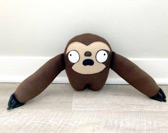 Sloth Plush Toy - Brady
