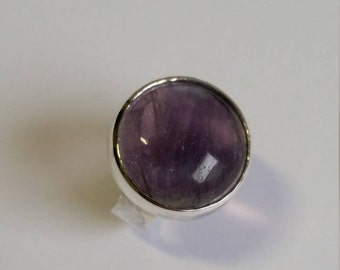 Sterling Silver ring with Fluorite
