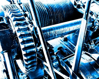 Industrial Photo, Industrial Art, Machinery Photo, Industrial Look, Mining Photo, Instant Download, Digital Download