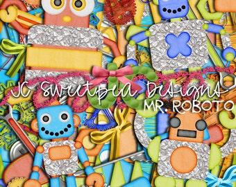 Mr. Roboto Digital Scrapbooking Kit