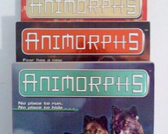 Books- Animorphs, Set of 3 #9,10,11