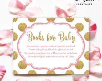 """Pink and Gold Books for Baby 