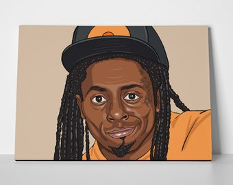 Lil Wayne Poster or Canvas