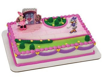 Minnie Mouse Happy Helper Cake Topper
