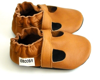 Baby Shoes,Leather Baby Shoes,Ebooba,Baby Moccasins,Soft Sole Baby Shoes,Walking Shoes,Leather Baby Sandals,Girl Sandals,Brown Baby Shoes,4