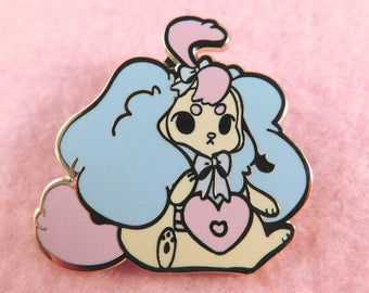 Plush Baby Puppy Enamel Pin