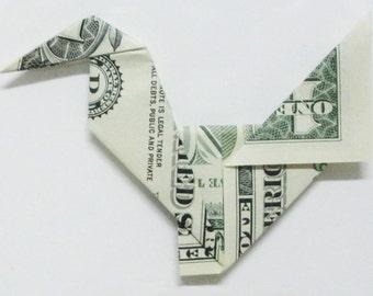 Dollar Bill Origami Chicken