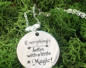 witchy Wiccan necklace Pagan necklace witch jewelry occult jewelry wiccan jewelry pagan jewelry metaphysical wicca Pagan Witchcraft