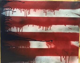 Melting Flag