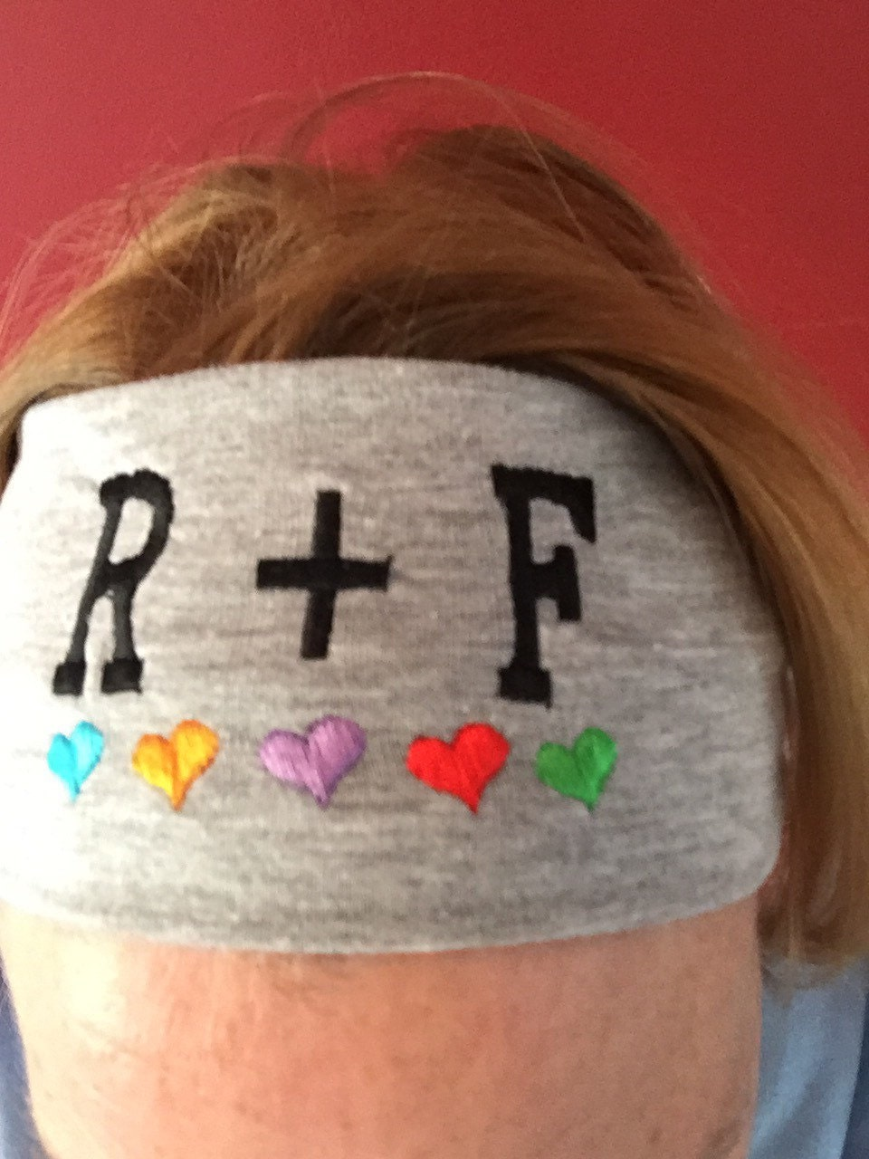 Rodan and fields embroidered headband rf love colored zoom thecheapjerseys Choice Image