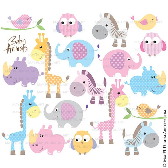 Baby Animals Clipart Free Commercial Use Cute Clipart