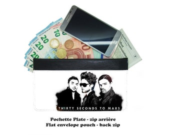 Zip envelope pouch - 30 seconds to mars - 01-02