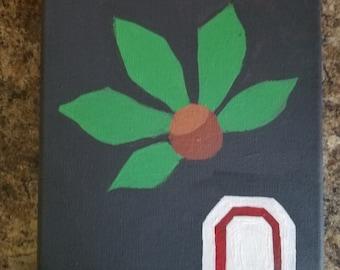 Ohio State Buckeye Painting