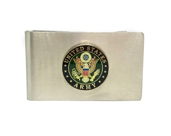 Army Money Clip – 1″ Color