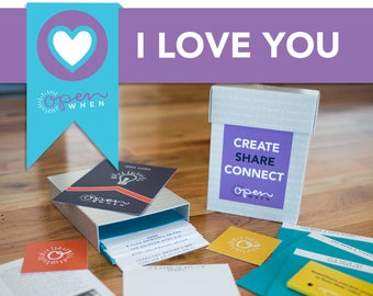 Best Love Gift! Great for Long Distance Relationships or Everyday Love,  20 Open When Letters, for Husband, Wife, Boyfriend or Girlfriend!