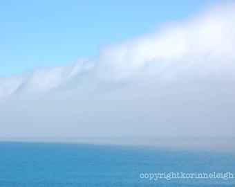 Greeting Cards - Choose your own images:  Set of 5 Blank photo cards, Scenic, Blue, Ocean, Flowers