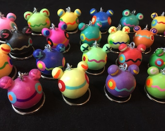 Handmade Froggy Charms