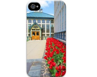 Colorful Architecture iphone 7 case, Patriotic iphone 5 case, Unique iphone 7 case, Tulip iphone 6 case, USA iphone se case, red white blue