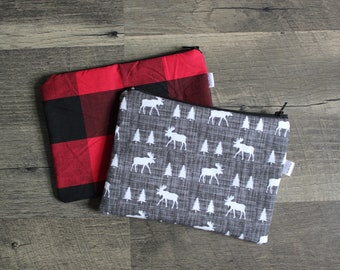 Set of 2 Reusable Snack Bags