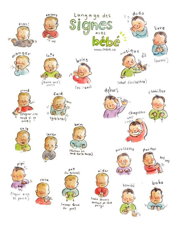 a description of the how sign language speaks through babies Sign language speaks through babies communication between babies and parents has been a problem since the beginning of time the subtle hints into what a child is thinking, feeling and experiencing every day has become a topic of many discussions and books.