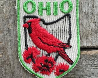 Ohio Vintage Souvenir Travel Patch from Baxter Lane