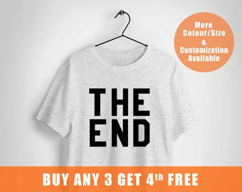 The End shirt,game over tee,Trending t shirt for men,pastel goth t-shirt,plus size ladies t shirt,ship to CANADA and more,