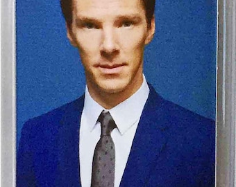 Benedict Cumberbatch movie poster fridge magnets Keyrings available in Blue Black Red Green White or Clear connectors