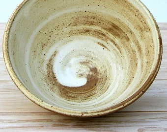 Ceramic Bowl, Cereal Bowl, White Ceramic Bowl, Stoneware Bowl, Kids Bowl, Rustic Bowl, Pottery Bowl, Footed Bowl, Japanese Bowl