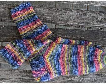socks women's size UK 4,5-6, US 7-8