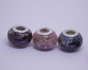 pandora style ashes beads, memorial bead, cremation jewelry, pet memorial beads, pet memorial, pandora charm, cremation bead, european bead,