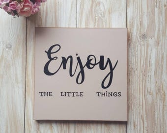 Wall decor sign