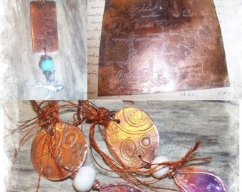 Eco Friendly Etching Tutorial and Formula
