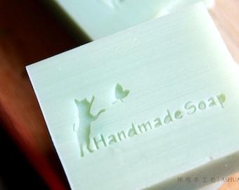 Ashuai soap-Acrylic soap stamp A002