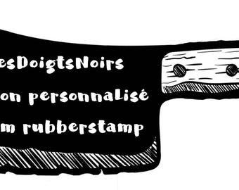 Personnalized Rubbertsamp