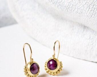 Fine jewelry Silver Gemstone jewelry 22k gold by GefenJewelry