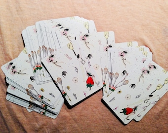 Whimsical Illustrated Standard Playing Cards