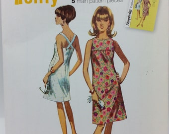 Simplicity S0420 Misses Sleeveless Dress- Jiffy 5 Piece Pattern  Misses size: 6-14 New Uncut Simple to Sew