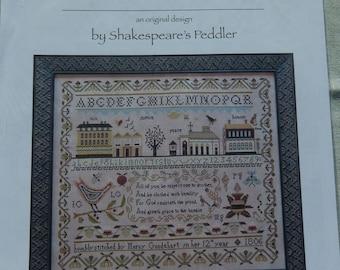 Mercy Goodehart's Sampler by Shakespeare's Peddler