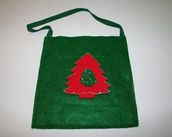 Christmas Tote--Carryings  Gifts For Christmas--Shipping Included