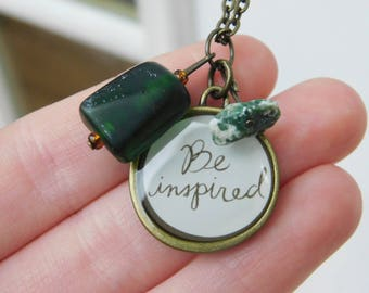 Be Inspired Charm Necklace
