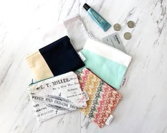 READY TO SHIP Coin Purse - Credit Card Wallet - Small Card Wallet - Mini Wallet - Gift Card Holder - Small Womens Wallet - Stocking Stuffer