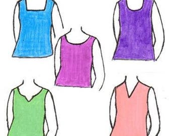 Misses Camisole Top PDF Sewing Pattern
