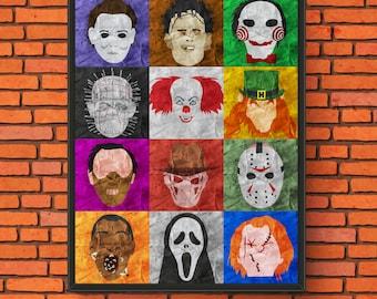 Horror Pop Art Print