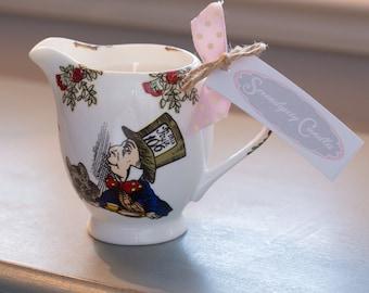 Alice In Wonderland Candle Jug