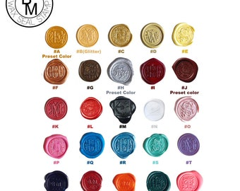 Sealing Wax | Bulk deal discount - a set of 10 pcs | 25 Colors, Stamp Wax, Seal Wax, compatible with Glue Gun