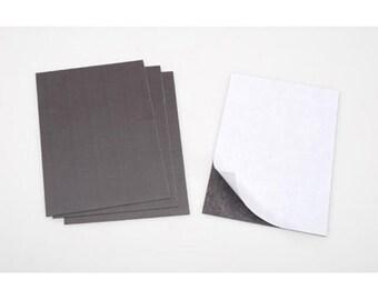 Magnet Sheet 4 x 6 - Self Adhesive Magnets - Slim Magnets - Strong Magnets - Magnets - Crafting Magnets - Magnetic Sheet-Album Magnets 7-117
