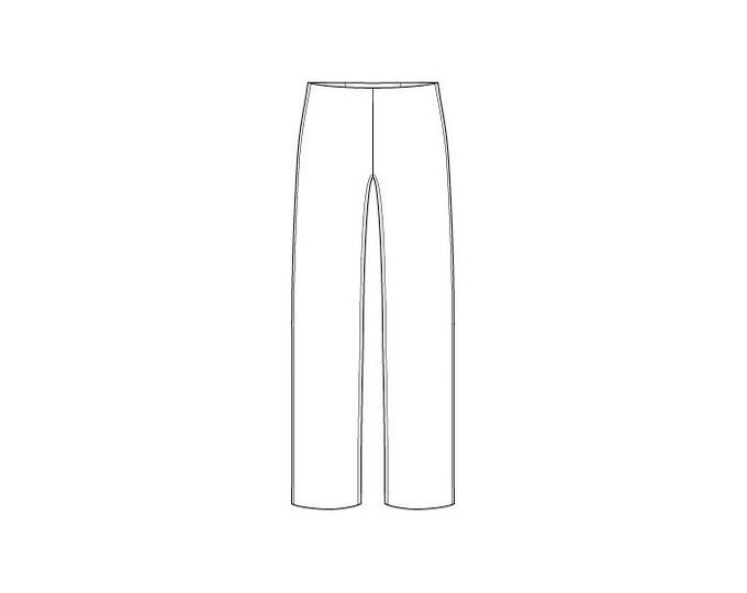 Basic Men's Trouser Block Pattern - Sizes 28-42