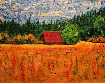 My Barn. 7x5