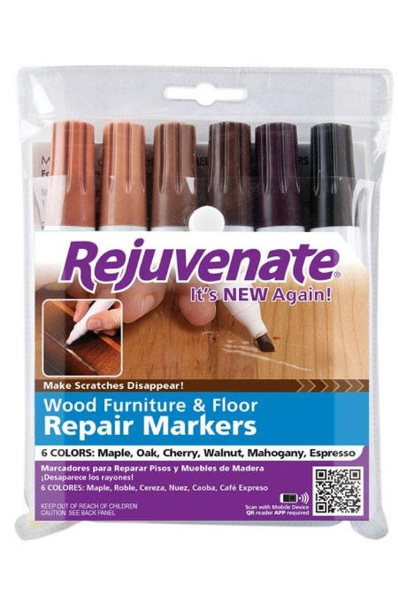 Marcadores de reparación REJUVENATE muebles de madera y el