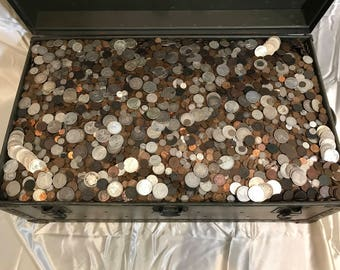 Old US Coins Collection Mixed Lot Silver Bullion Set Gold Type Coins Morgan Peace Trade Dollars Halves Seated Liberty Barbers Unc Key Dates!